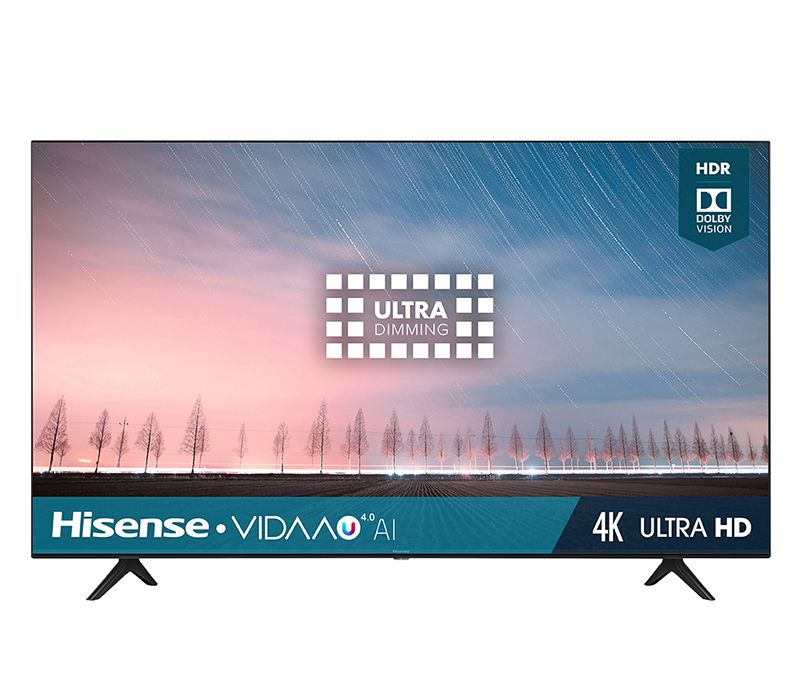 Hisense Pantalla 43 Pulgadas Led 4K Smart Tv 43R6000Fm